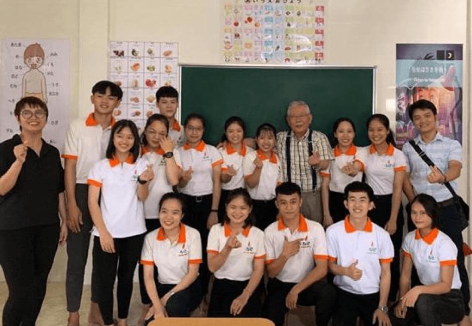 ベトナムの日本語学校とも連携してます